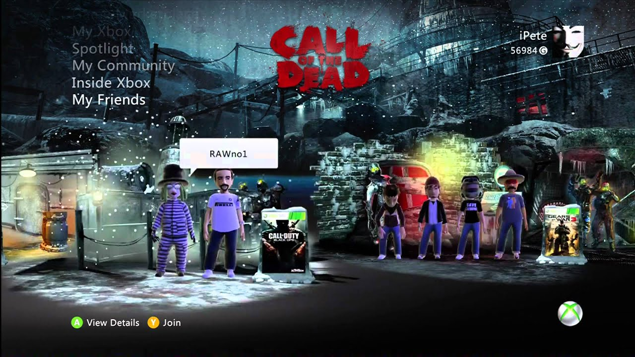 Call of Duty Black Ops Zombies Call of The Dead Call of Duty® Black Ops