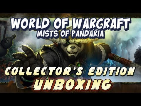 Mists of Pandaria: Collector's Edition Unboxing