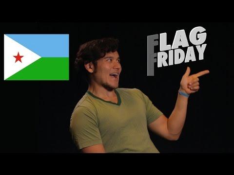 Flag Friday! Djibouti