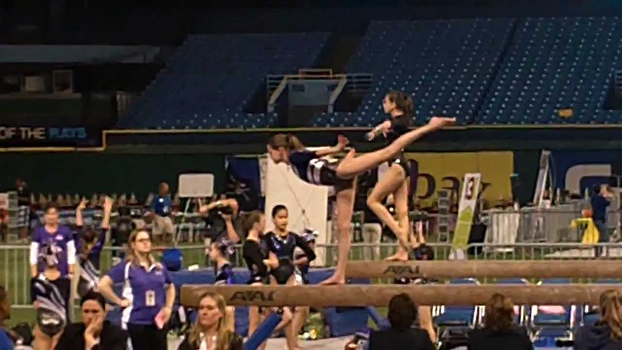 gasparilla gymnastics meet tropicana field