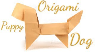 Origami Puppy Dog Tutorial (Hyo Ahn)