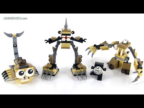 LEGO Mixels Series 3 Spikels reviews! Footi. Scorpi. Hoogi!