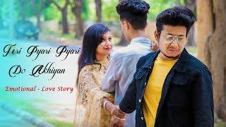 Teri Pyari Pyari Do Ankhiyan | Tiktok Viral Song | Emotional Love Story |Latest Song 2019| RS Rhythm