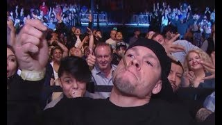 Nate Diaz Sparks Joint On Live TV
