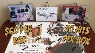 2013 Panini Momentum Football Hobby Box Break #2 - 10 Hits for $60!!!