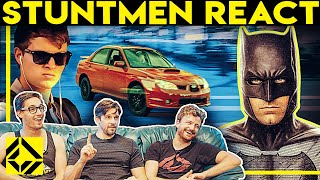 Stuntmen React To Bad & Great Hollywood Stunts 5