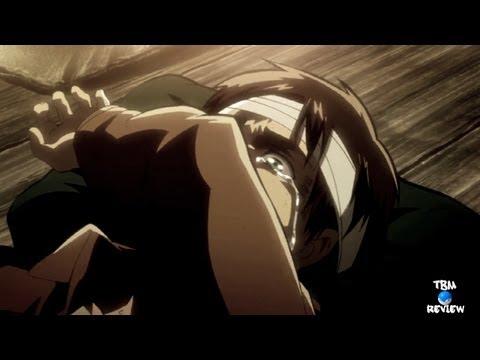 Shingeki no Kyojin Attack on Titan Episode 22 Review - LEVI IS FREAKIN BEAST! - 進撃の巨人