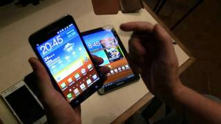 Samsung Galaxy Note vs Galaxy S2 4G vs Galaxy Tab 7.7 vs Galaxy S2