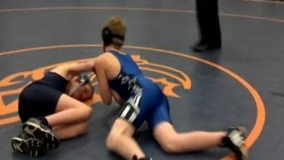 Wrestler With Cerebral Palsy Wins Wrestling Match After Opponent Allows Jared Stevens to Pin Him
