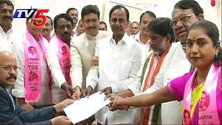 Banswada MLA Pocharam Srinivas Files Nomination as Telangana Assembly Speaker