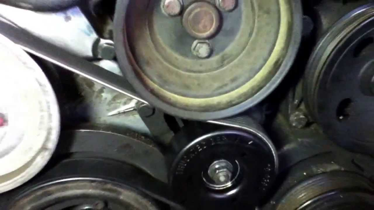 96 Mercedes Benz C280 Serpentine Belt