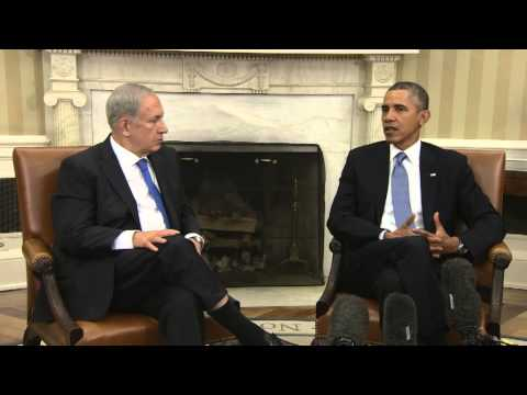 PM Netanyahu Meets With President Obama at the White House