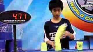 2008 WSSA World Sport Stacking Championships Footage 5