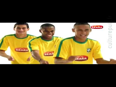 Neymar, Robinho, Ganso Dancing Like Beyonce!
