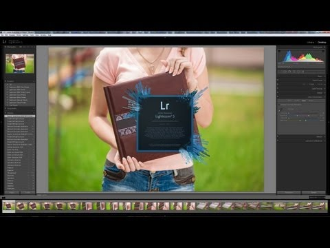 Уроки Lightroom 5 - видео