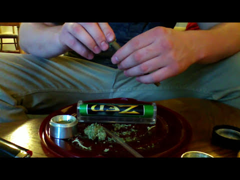 Rolling the Perfect Blunt with Smoking Weed Daily