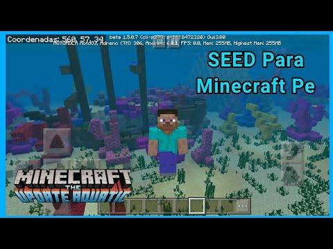 La Mejor SEED Para MCPE 1.5.0.7 | Semillas Para Minecraft 1.5.0.7