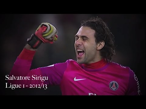 Salvatore Sirigu Compilation | Paris Saint-Germain 2012-13