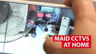 Spying On Maids With CCTV Cameras: Safeguard Or Too Much? | Talking Point | CNA Insider