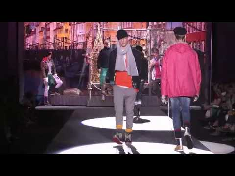 DSQUARED2 MEN S SS 2012 MFW Part 1 FULL SHOW AND BACKSTAGE