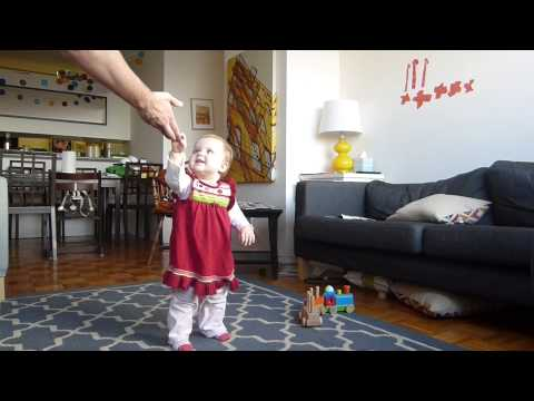Time-lapse Of Baby Learning To Walk video