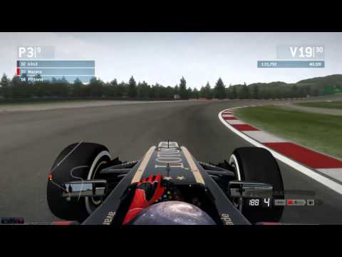 F1 2013 Codemasters Pc GP Alemania Liga Gold Carrera