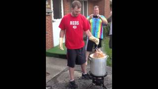 How to not deep fry a turkey