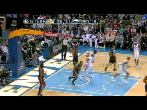 Kenyon Martin Dunks hard a rebound vs Golden State Warriors Video