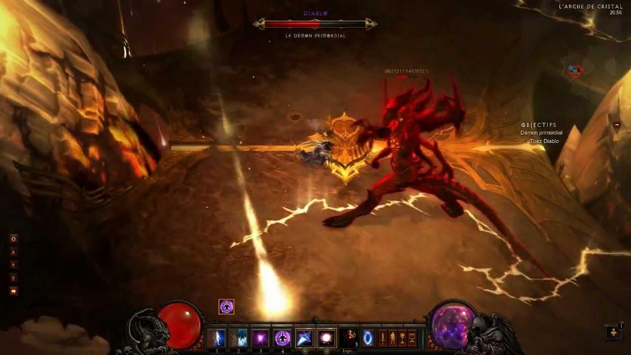 Diablo  Wizard Tank Inferno Build