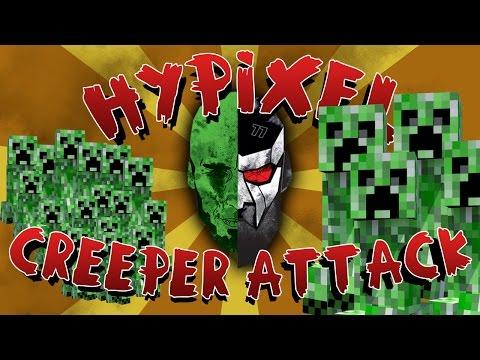 Minecraft: CREEPER ATTACK w/ Docm77 & YOGSCAST Parv