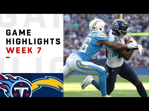 Titans vs. Chargers Week 7 Highlights  NFL 2018 in London