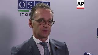 German FM on Crimea crisis and INF treaty