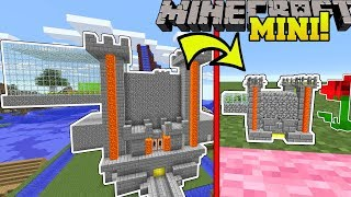 Minecraft: POPULARMMOS MINI CASTLE!!! (TROLLING BLOCKS, SAVAGE CLOUD, & GIANT PICKAXE!)  from PopularMMOs