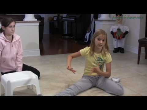 Learn How To Do The Splits Video Tutorial for Gymnastics, Dance, Cheerleading, Skating and Tumbling
