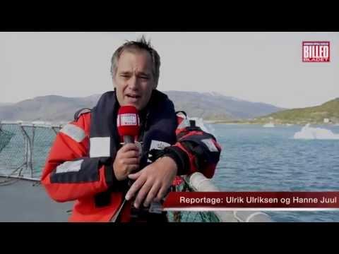 Kronprinsparret og deres fire børn ankommer til grønland