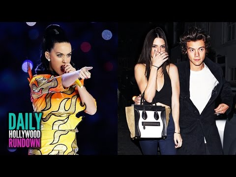 Katy Perry Disses Taylor Swift At Superbowl Show? -Harry Styles Celebrates Birthday W/ Kendall (DHR)