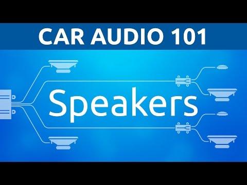 Speakers: General   Car Audio 101