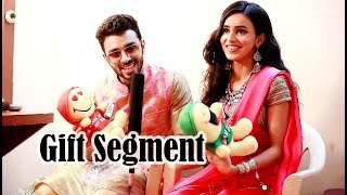 Ankitta Sharma & Samridh Bawa receive Gifts from Fans | Gift Segment