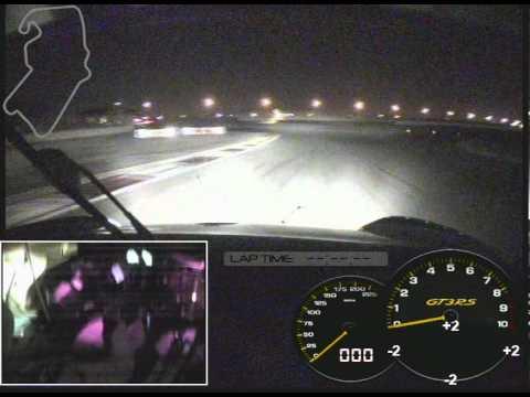 Dubai 24 Hours Onboard Night Stint with Sean Edwards, Porsche 997 GT3 R