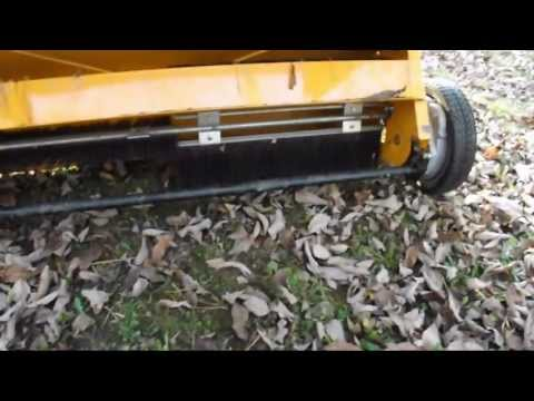 Craftsman 44 inch Leaf Sweeper Review