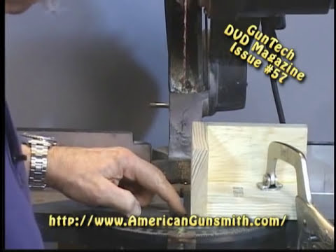 Shortening a Buttstock: Excerpt from GunTech Video Magazine #57