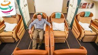 Oman Air Business Class A330-300  | GlobalTraveler.TV