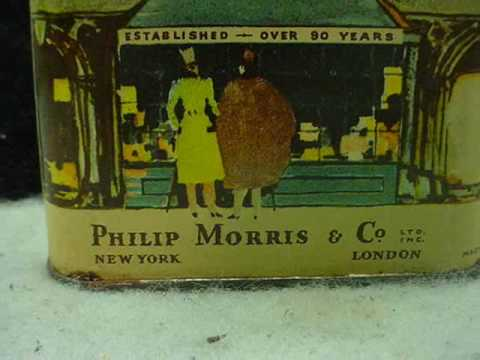 Bond Street Tobacco can Philip Morris Unopened