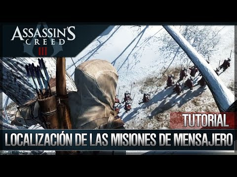 Assassin's Creed 3 - Walkthrough Español - Localización de todas las misiones de mensajero [100%]