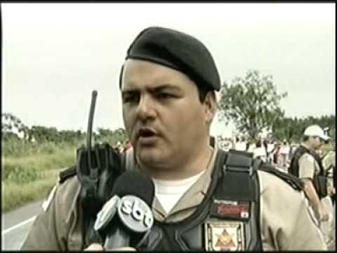 Tenente Carlos Humberto da PRE fala sobre manifestações do MST