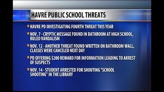 "Police arrest Havre student who allegedly yelled ""school shooting"""