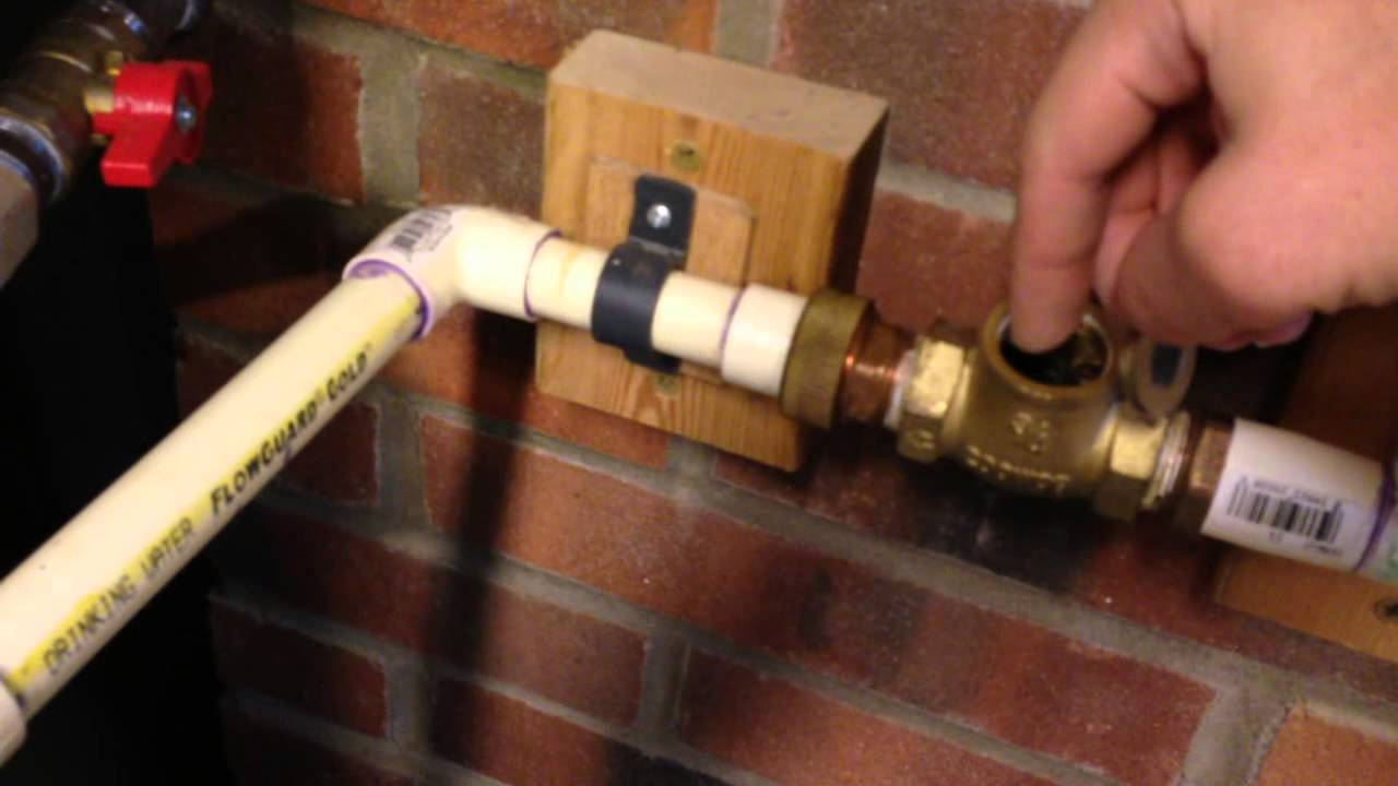 Hot Water Heater Problems >> Hot Water Line Recirculation Education - YouTube