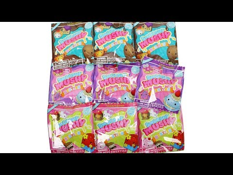 Smooshy Mushy Besties Blind Bags Unboxing Toy Review Munchies. Bakies and Sweeties Squishies