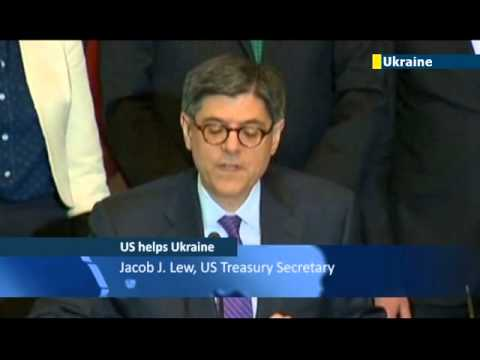 US Backs European Ukraine: Jacob Lew signs USD 1 billion agreement with Ukrainian colleagues