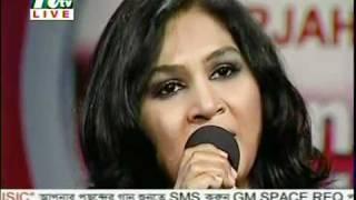 Ekbar Jodi Keu Bhalobashto - Samina Chowdhury (Live)